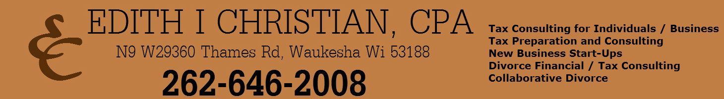 Edith Christian CPA – Waukesha Accounting